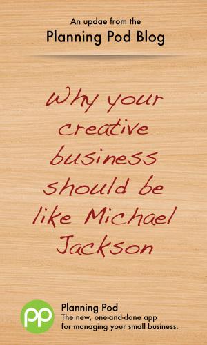Creative Services Businesses embrace change like Michael Jackson