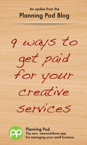 How to get paid in full for your creative graphic design, web design and copywriting work