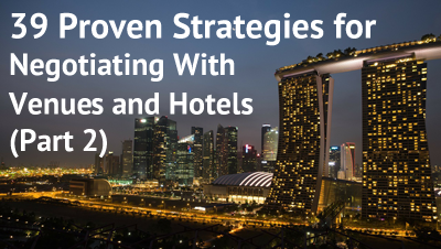 How to Negotiate with Hotels and Venues