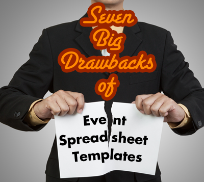 Event Planning Templates - Drawbacks