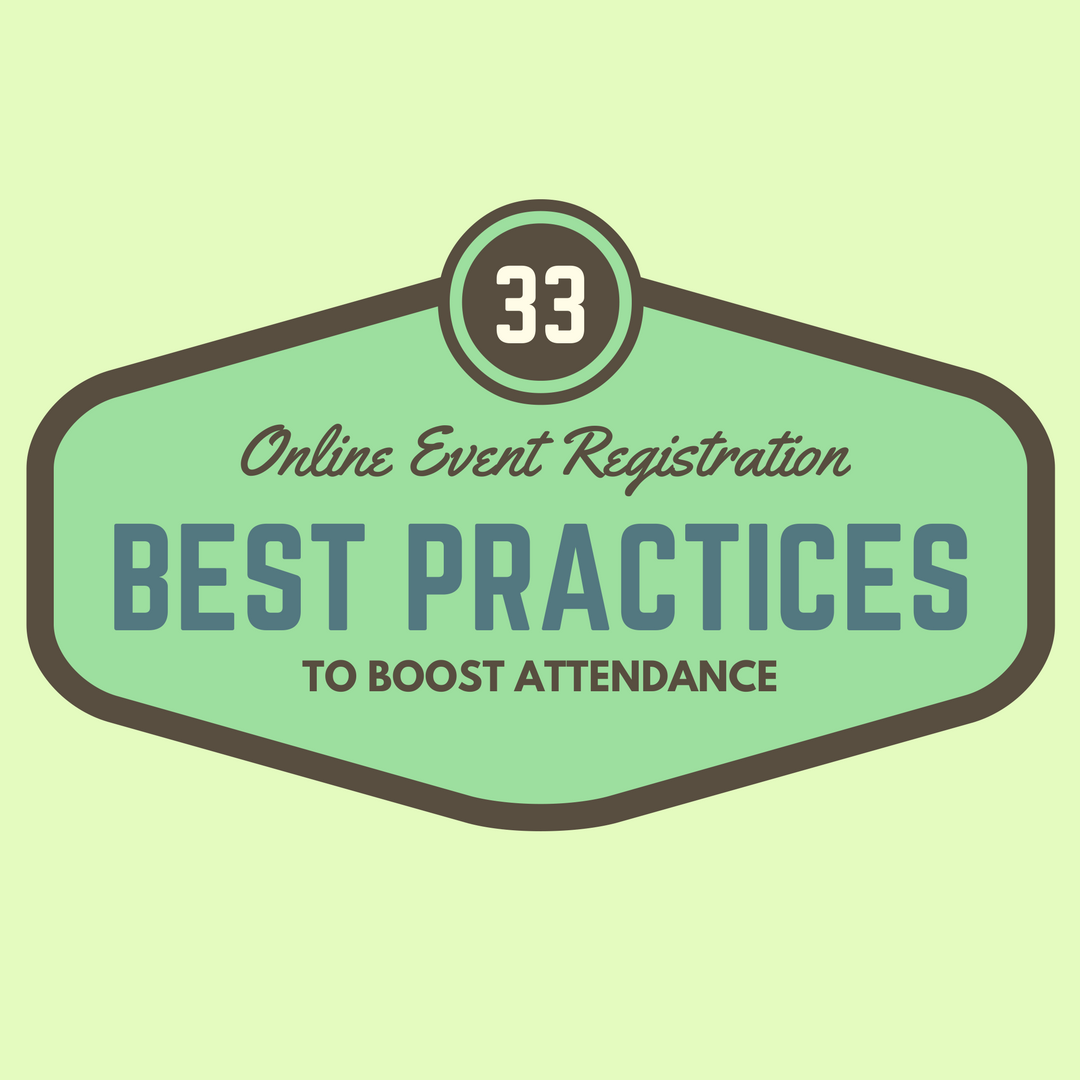 33 Best Practices for Boosting Online Event Registration [Infographic]